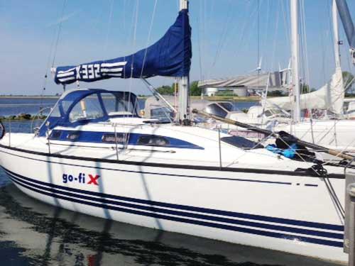 Regattatraining X-Yacht
