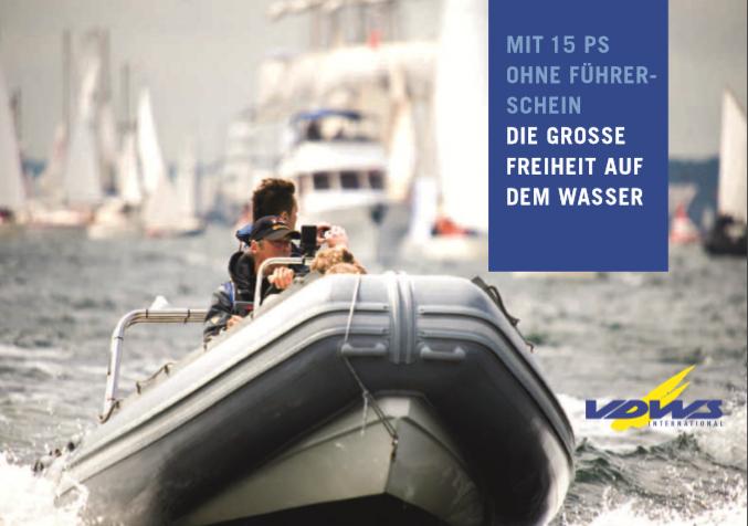 Motorbootzertifikat Bis 15 PS